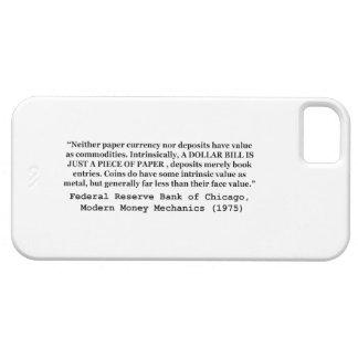 Un billete de dólar es apenas un trozo de papel funda para iPhone SE/5/5s