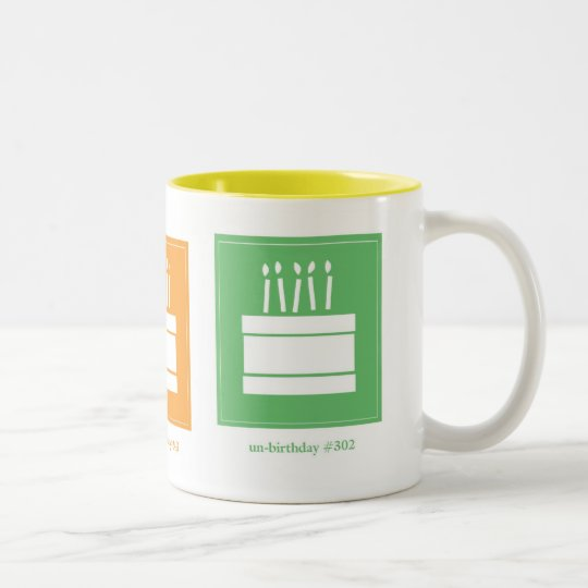 un-birthday Two-Tone coffee mug