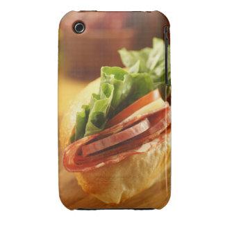 Un bocadillo sub italiano con Case-Mate iPhone 3 cárcasas