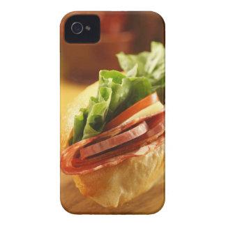Un bocadillo sub italiano con iPhone 4 Case-Mate protectores