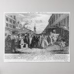 Un boda de la flota, 1747 poster
