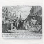 Un boda de la flota, 1747 tapete de raton