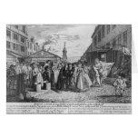 Un boda de la flota, 1747 tarjetas