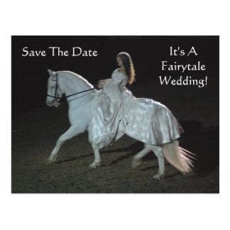 ¡Un boda del cuento de hadas! - postales