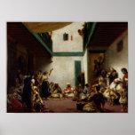 Un boda judío en Marruecos, 1841 Poster