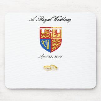 Un boda real tapete de ratón