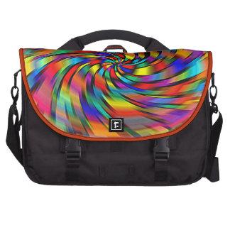 Un bolso colorido del ordenador portátil del bolsas de portátil