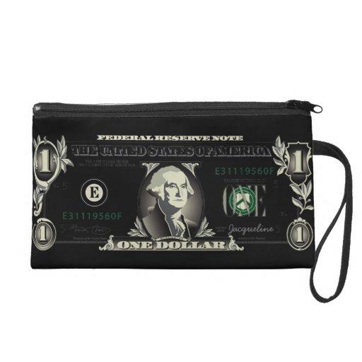 Un bolso de Bill de dólar de EE. UU. Baggetes