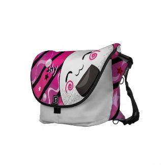 Un bolso de la timidez bolsa de mensajería