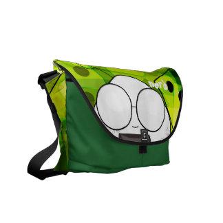 Un bolso del pedazo bolsa messenger
