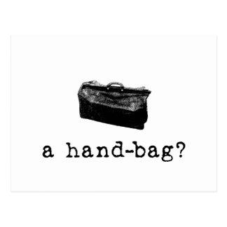 ¿Un bolso? Postal
