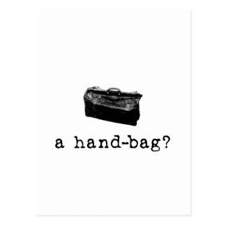¿Un bolso? Tarjeta Postal