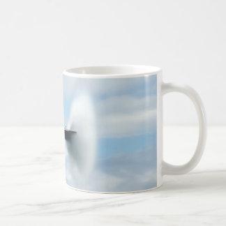 Un boom sónico taza