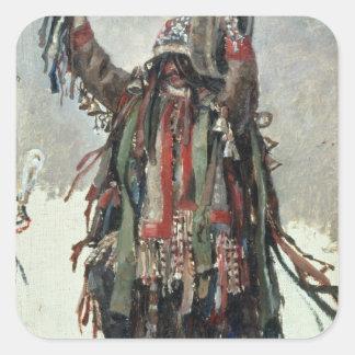 Un bosquejo del Shaman para Yermak Colcomanias Cuadradass