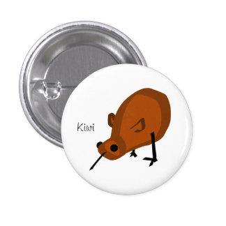 Un botón del kiwi pin