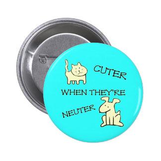 Un botón más lindo pin