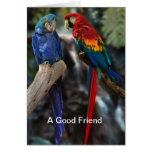 Un buen amigo tarjetas
