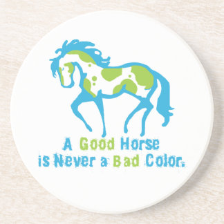 Un buen caballo posavaso para bebida