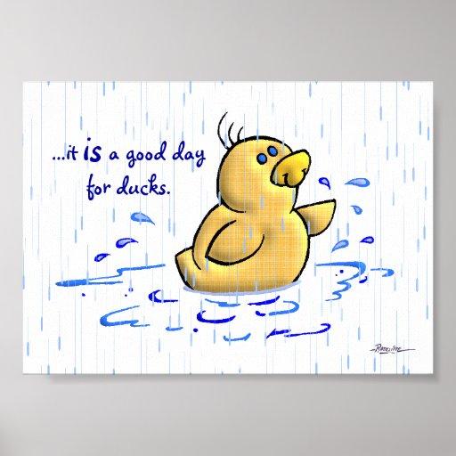 Un buen día para los patos (3 de 3) póster