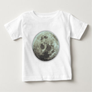 un buen diseño de Halloween de la Luna Llena Remera