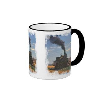 Un buen jefe del vapor taza de café
