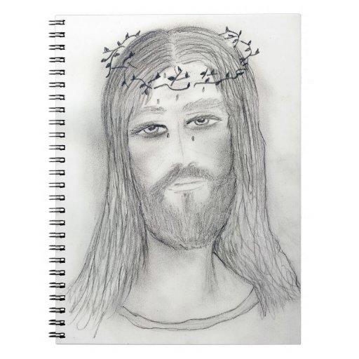 Un buen Jesús Libro De Apuntes Con Espiral