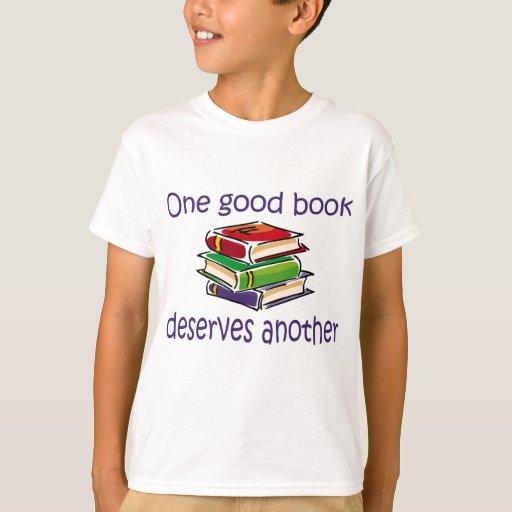 Un buen libro merece otra ropa y regalos remeras