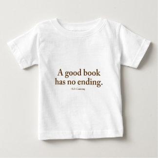 Un buen libro no tiene ninguna conclusión polera