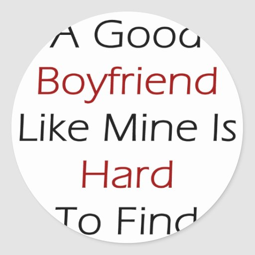 Un buen novio como el mío es duro de encontrar etiqueta