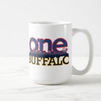 Un búfalo taza