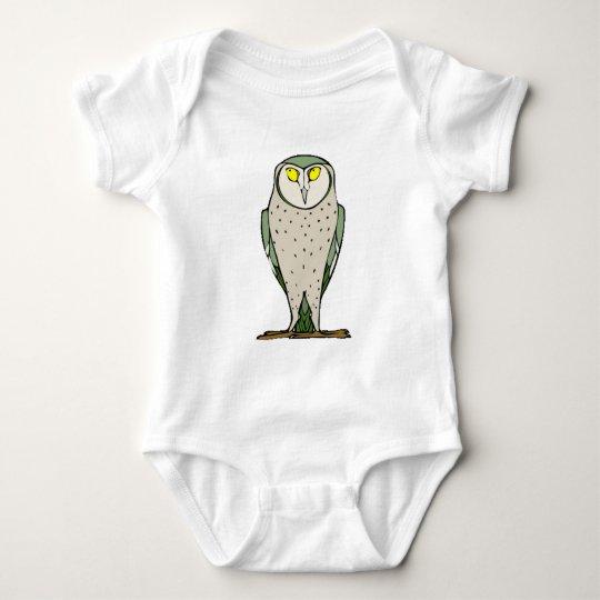 Un búho más sabio body para bebé