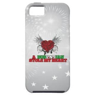 Un Burundian robó mi corazón iPhone 5 Protector