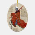 Un caballero del ornamento de Prato Ornamento De Reyes Magos