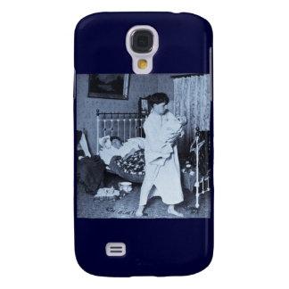 Un caballero del vintage de trabajo Stereoview 190 Funda Para Galaxy S4