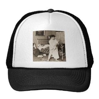 Un caballero del vintage de trabajo Stereoview 190 Gorra
