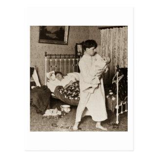 Un caballero del vintage de trabajo Stereoview Postales