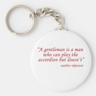 Un caballero es… llaveros