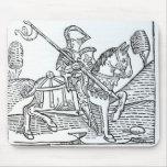 Un caballero, juego de Caxton del 'de los ajedrece Tapete De Ratón