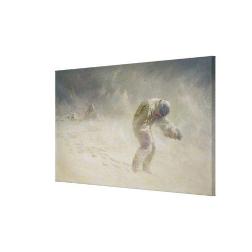 Un caballero muy galante, 1913 impresión en lienzo