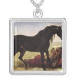 Un caballo árabe joyería