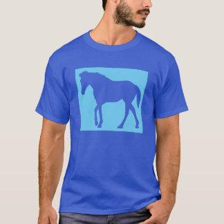 Un caballo azul playera