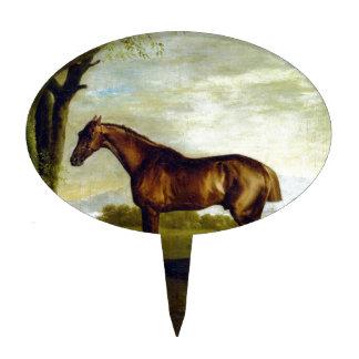 Un caballo de carreras de la castaña de George Palillos De Tarta
