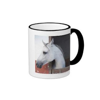 Un caballo (équidos) taza de café