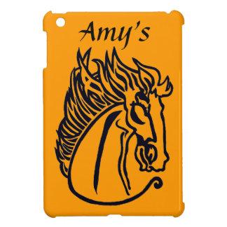 Un caballo para caso del iPad de muchos colores el iPad Mini Fundas