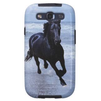 Un caballo salvaje y libre galaxy SIII cárcasas