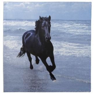 Un caballo salvaje y libre servilletas imprimidas