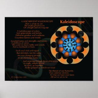 Un caleidoscopio magnífico póster