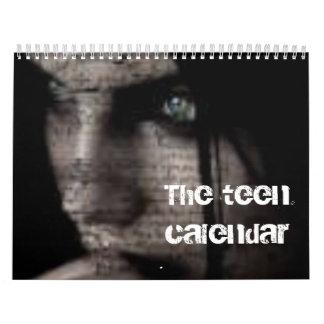 Un calendario adolescente modernizado