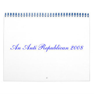Un calendario anti del republicano 2008 (1)