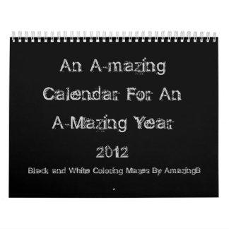 Un calendario asombroso por un año asombroso 2012